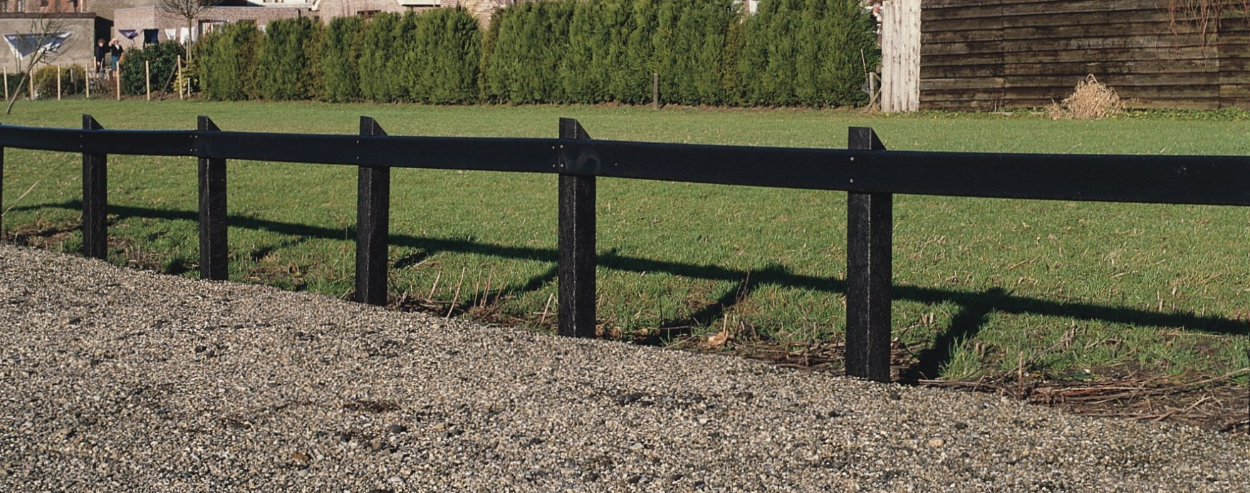 Local Authority Fencing - Post and Rail