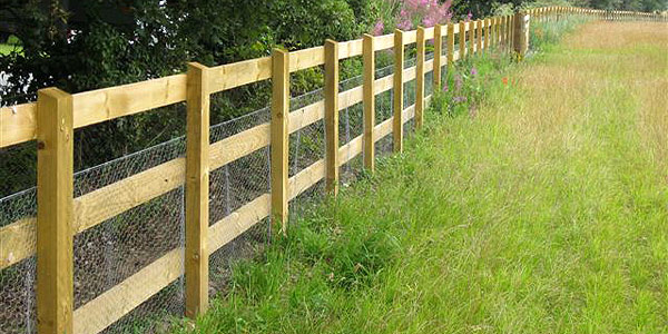 Agricultural Fencing Laid in Dorset for farmyard