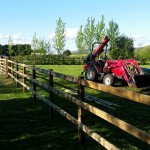 Equestrian fencing in in Devon by Dorset Fencing